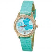 仙履奇緣水晶鑽精緻腕錶