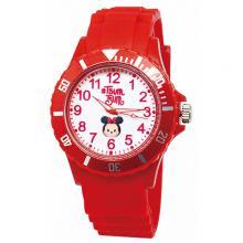 【迪士尼】日系TsumTsum運動彩帶錶-經典米妮