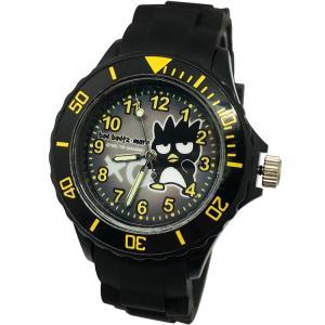 【三麗鷗系列】酷企鵝運動彩帶手錶-黑色(網路販售限定款)