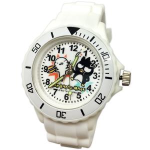 【三麗鷗系列】酷企鵝運動彩帶手錶-白色(網路販售限定款)