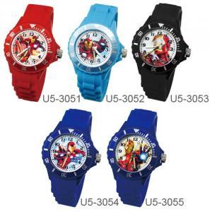 【Marvel漫威系列】鋼鐵人運動彩帶手錶