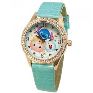 水嫩TsumTsum水晶鑽精緻腕錶