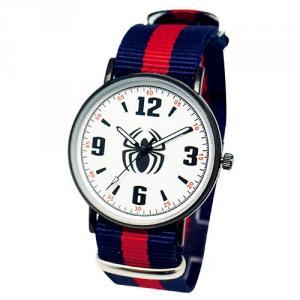 漫威系列薄型酷黑織帶錶-蜘蛛人