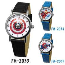 【Marvel漫威系?#23567;?#37628;鐵人/美國隊長/蜘蛛?#21496;?#32251;腕錶