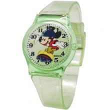 [迪士尼正版授權] 俏皮米奇清透果凍休閒手錶