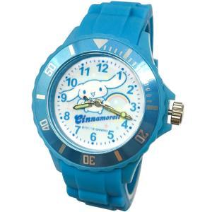 【三麗鷗系列】喜拿狗/大耳狗運動彩帶手錶-水藍色 (網路販售限定款)