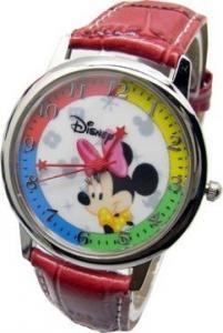 迪士尼 A041 繽紛四色米妮 皮帶錶