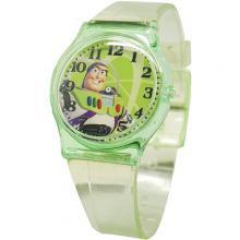 [迪士尼正版授權] 巴斯光年清透果凍休閒手錶