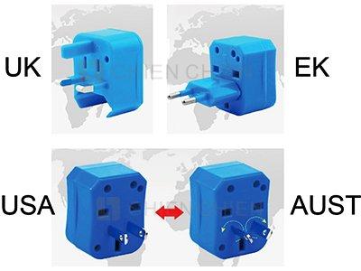 3加1全球通用 USB旅行轉換插