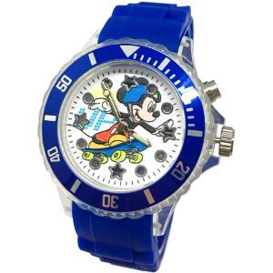 【迪士尼】運動風米奇酷炫閃燈錶