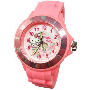 【三麗鷗系列】凱蒂貓Kitty運動彩帶手錶-粉色 (網路販售限定款)