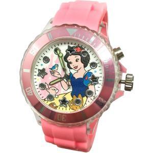 【迪士尼】嬌羞白雪公主酷炫閃燈錶